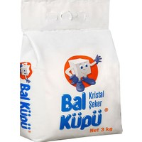 Balküpü Kristal Toz Şeker 3 kg
