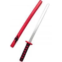 Dünyadan Hediyeler Ahşap Japon Samuray Katana Kılıcı Kırmızı