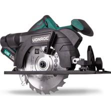 VONROC Vpower 20V Akülü Daire/Sunta Kesme Testere - 150 mm - 2.0Ah Pil