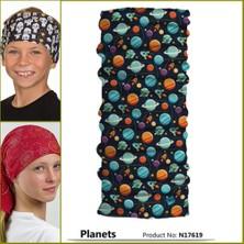 Narr Çocuk Bandana Planets