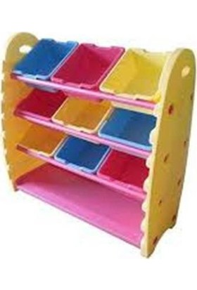 Montessori Plastik Saklama Rafı King Kids Tb 1500