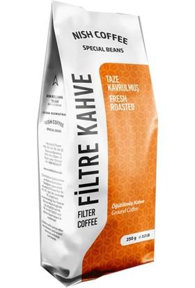 Nish Kahve Filtre Kahve Nish Özel Seri Sumatra 250 gr French Press İçin Çekilmiş