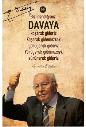 Necmeddin Erbakan Ajandası - Cüheyman Taha Aydın