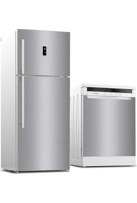 3M Inox Folyo Buzdolabı ve Bulaşık Makinesi Kaplama Sticker