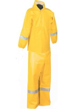 İlkiş Gırgır Modeli Bahçıvan Takım Yağmurluk Sarı