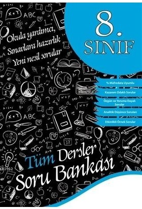 Öğretmen Yayınları 8. Sınıf Tüm Dersler Soru Bankası