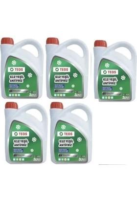 Teos Yeşil Organik Antifiriz -40C 3 LT *2019 5 Adet