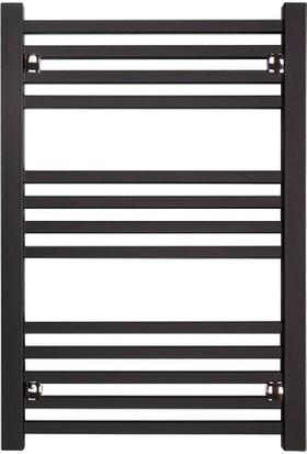 Digisu Yandan Girişli Havlupan Radyatör 300 x 600 mm Siyah