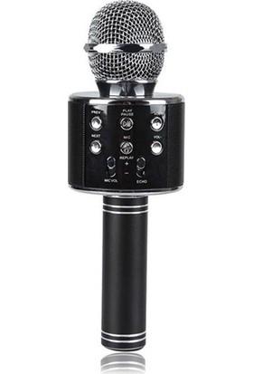 Wster Ws-858 Wireless Karaoke Mikrofon Bluetooth Hoparlör