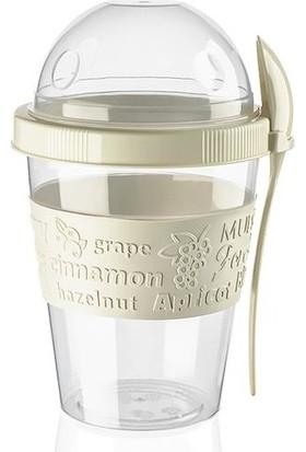 Prosale Take And Go Hazneli Yoğurt Kabı 600 ml