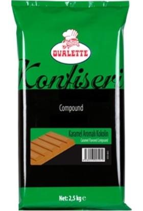 Ovalette Kramael Konfiseri Kuvertür 2.5 kg