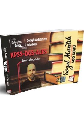 657 Yayınevi KPSS DGS ALES Kolaydan Zora Sözel Mantık Tamamı Video Çözümlü 500 Soru