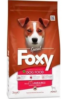 Foxy Kuzu Etli Ve Pirinçli Yetişkin Köpek Maması 3 kg