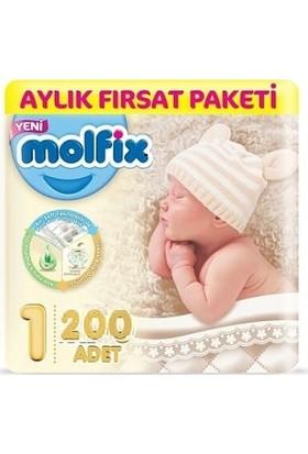Molfix Yenidoğan 1 No 200'lü Bebek Bezi