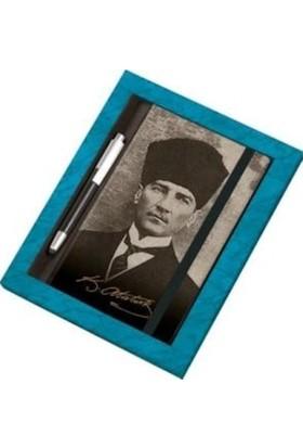 Gıpta 2020 Atatürk 13 x 21 cm Günlük Ajanda + Touch Pen Kalemli Set
