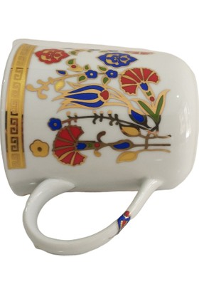 Güral Porselen Kupa Bardak El dekoru Kse Özel Tasarım
