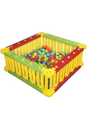 Montessori Plastik Kare Oyun Alanı King Kids Sb 6010