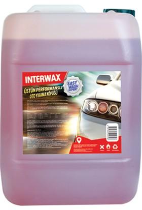 Interwax Easy Wash Expert Fırçasız Oto Yıkama Köpüğü 25 kg