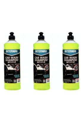 Interwax Cilalı Oto Şampuanı 1 L - 3 Adet