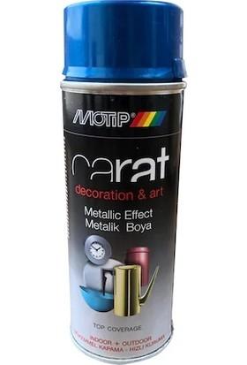 Motip Carat Dekoratif Sprey Boya 400 ml Metalik Mavi