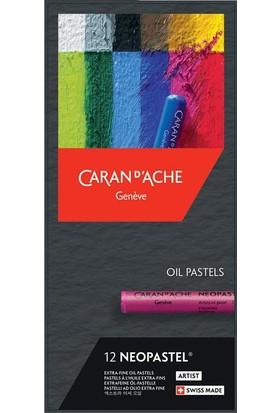 Caran D'Ache Neopastel® – 12 Renkli Set