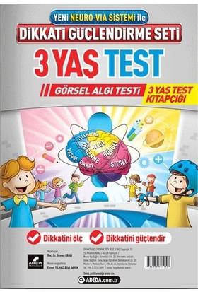 Adeda DGS 3 Yaş Görsel Algı Testi