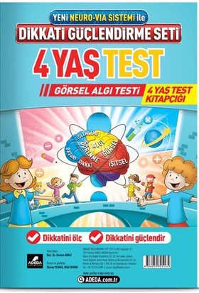Adeda DGS 4 Yaş Görsel Algı Testi