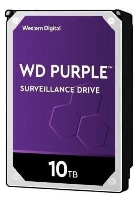 "Wd Purple WD101PURZ 10TB 3.5"" 256MB Cache 7200RPM Harddisk"