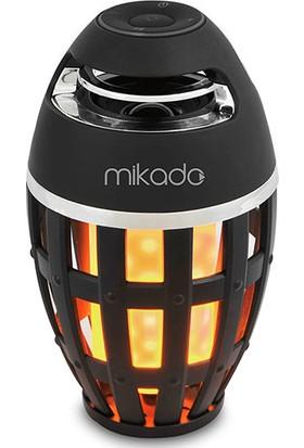 Mikado MD-23BT Shadowy Siyah Tf Kart Destekli Bluetooth Alev Işıklı Speaker