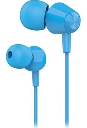 Hytech HY-XK30 Mobil Uyumlu Mavi Kulak İçi Mikrofonlu Kulaklık