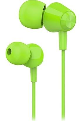 Hytech HY-XK30 Mobil Uyumlu Yeşil Kulak İçi Mikrofonlu Kulaklık