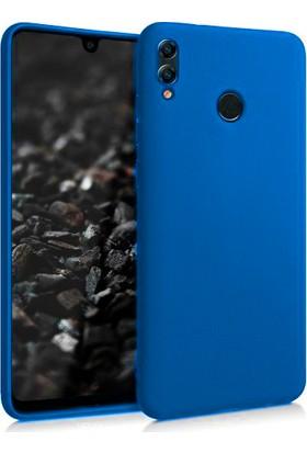 Melikzade Samsung Galaxy M20 İnce Mat Silikon Kılıf Mavi