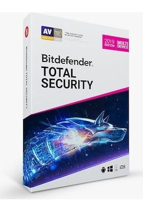 Bitdefender 2019 Total Security 1 Yıl 5 Kullanıcı