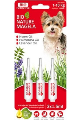 Bio Pet Active Nature Köpek Ense Damlası 1,5 ml