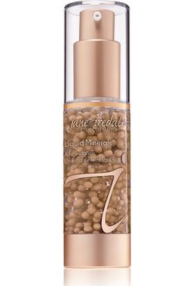 Jane İredale Liquid Minerals® A Foundation-Likit Mineral Fondoten#Caramel 30 ml.