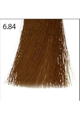 Baco Kalıcı Saç Boyası 6.84 Koyu Kumral Çikolata Bakır