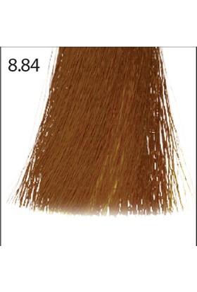 Baco Kalıcı Saç Boyası 8.84 Açık Kumral Çikolata Bakır