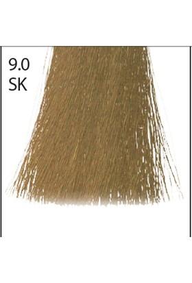 Baco Kalıcı Saç Boyası Sk 9.0 Silkera Açık Sarı