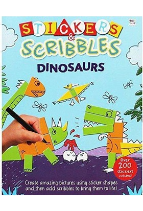 Stickers And Scribbles Dinosaurs