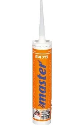 First Master E475 Akrilik Mastik Beyaz 310 ml 475 g