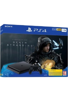 Sony Ps4 1 Tb Slim Death Stranding Bundle