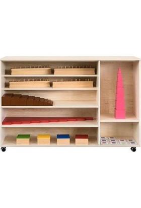 Montessori Duyu Dolabı