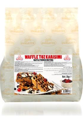 Ovalette Waffle Toz Karışımı 3 kg
