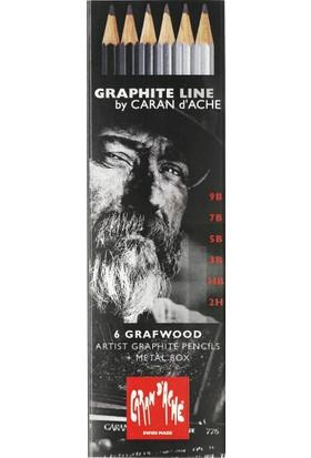 Graphıte Line Grafwood Kalem Seti - 6 Adet