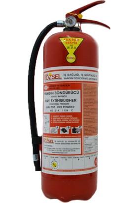 Özsel Yangın Söndürme Tüpü 6 kg