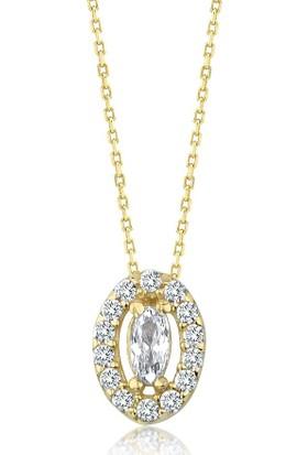 Label Jewelry Mini 14 Ayar Altın Taşlı Takı Seti