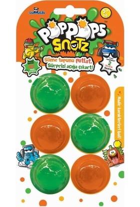 Pop Pops Snotz 6'lı Slime Paket