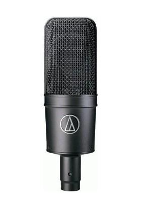 Audio Technica AT4033 ASM Kardioid Kapasitif Mikrofon Darbe Emici Aparatı (Shock Mount) İle Birlikte