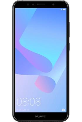 Magazabu Huawei Y6 2018 Ön Arka Full Body Kavisli Tam Kapatan Ekran Koruyucu