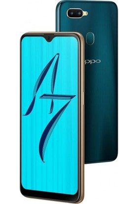 Magazabu Oppo A7 Ön Arka Full Body Kavisli Tam Kapatan Ekran Koruyucu